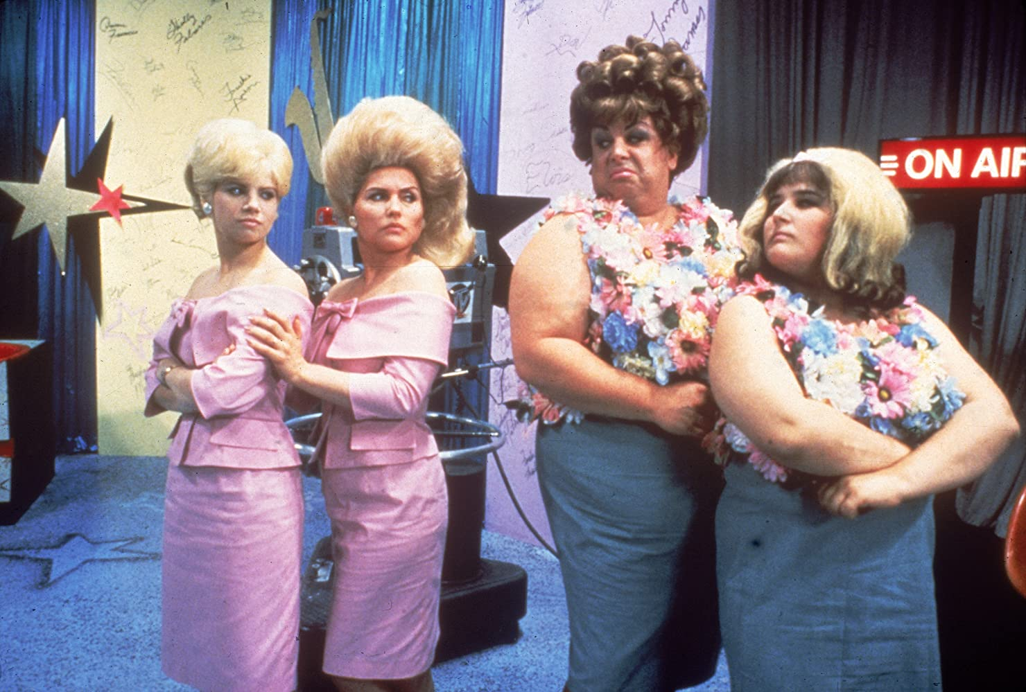 Divine, Debbie Harry, Ricki Lake, and Vitamin C in Hairspray (1988)