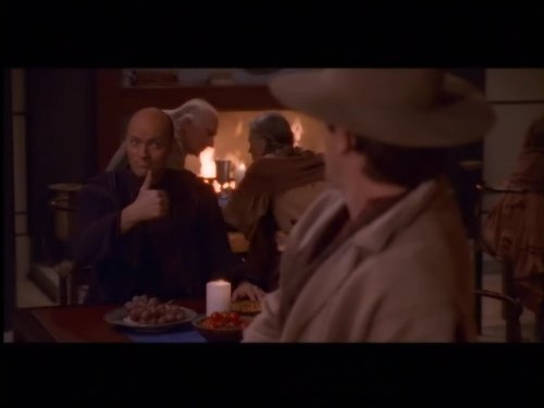 Gary Cole and Peter Woodward in Crusade (1999)