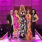 Arden Myrin, Rita Rudner, RuPaul, Michelle Visage, and Billy B. in RuPaul's Drag Race (2009)