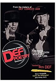 Def Poetry Poster