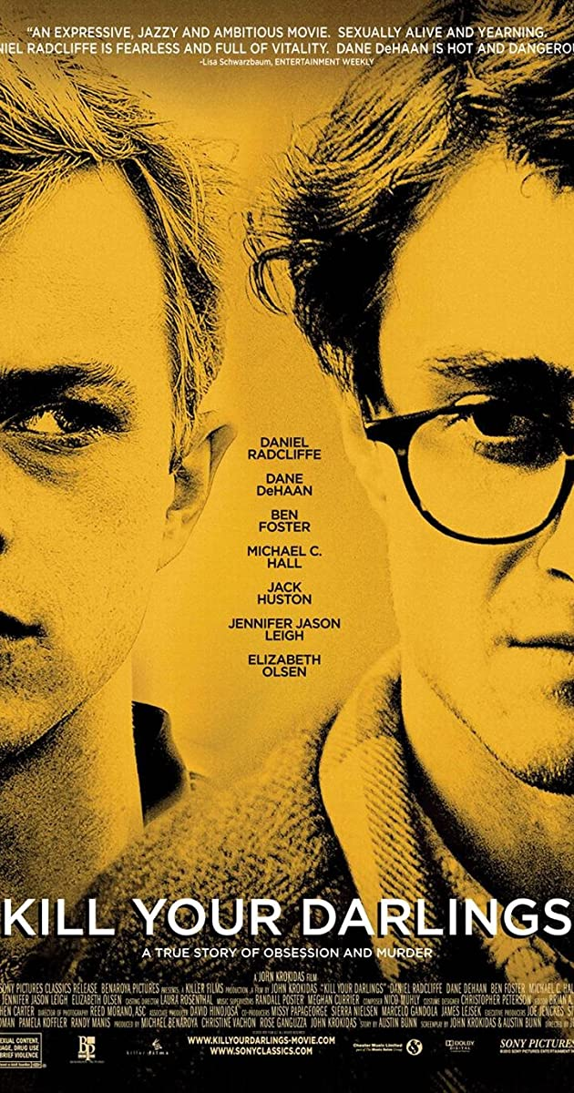 Subtitle of Kill Your Darlings
