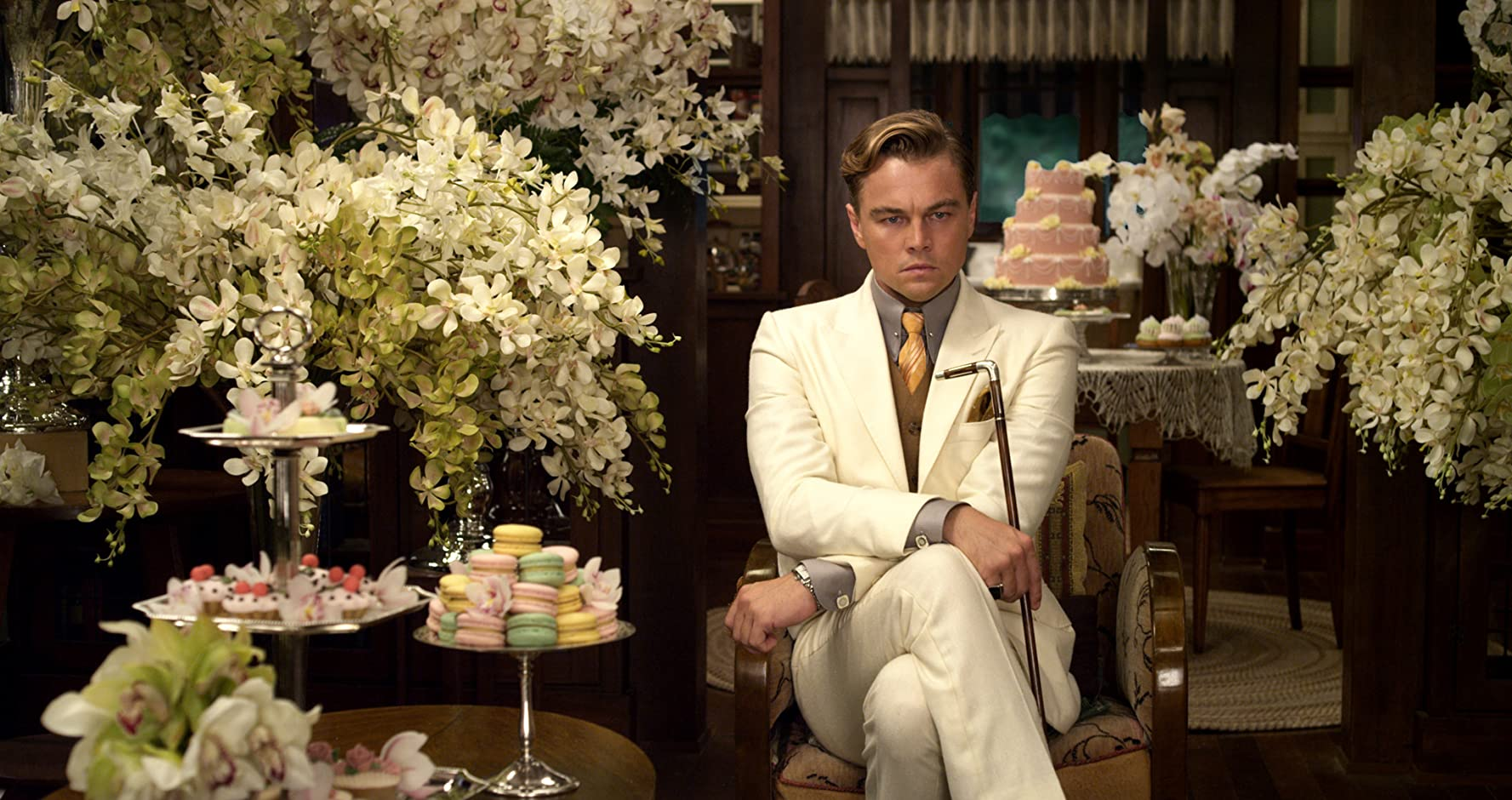 Leonardo DiCaprio in The Great Gatsby (2013)