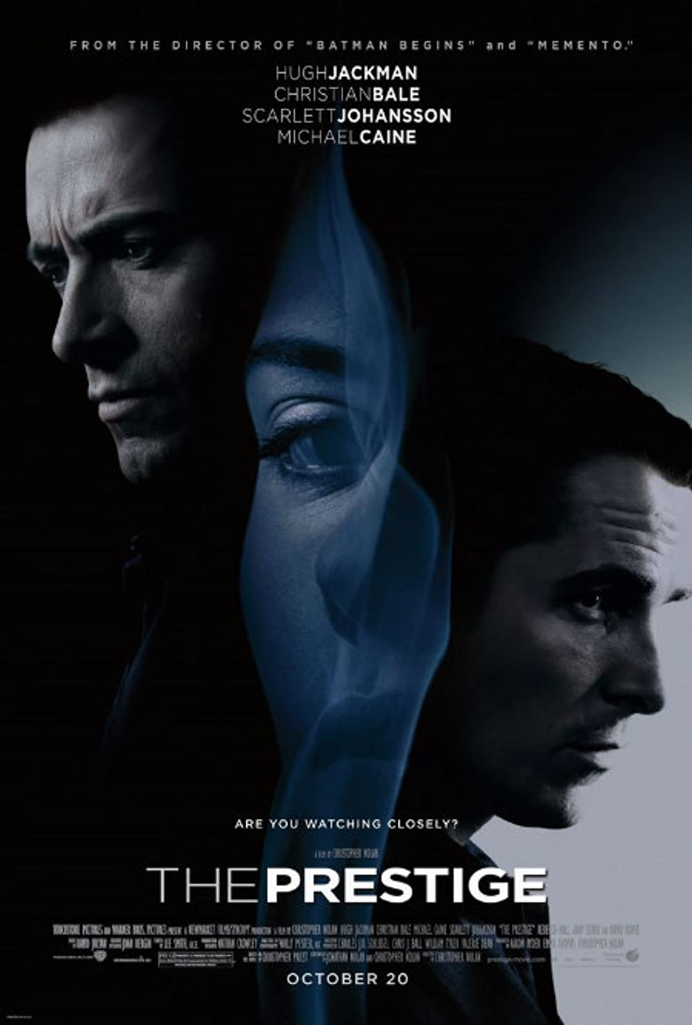 The Prestige 2006 Hindi Dual Audio 720p BluRay ESubs 952MB Download