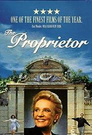 The Proprietor Poster