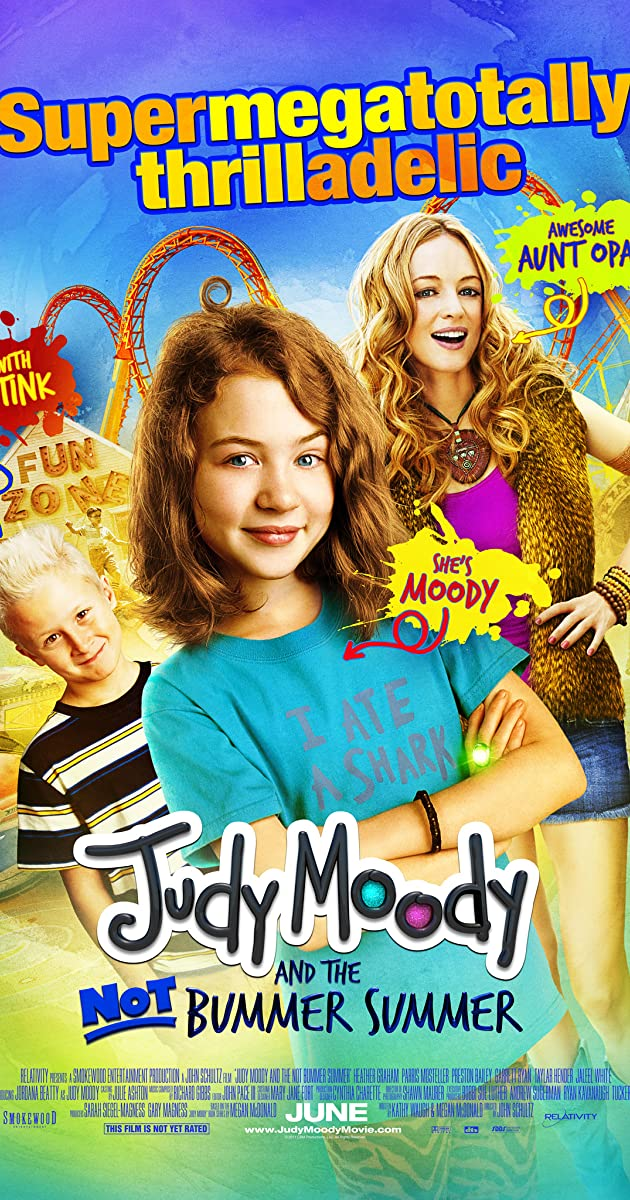 Judy Moody and the Not Bummer Summer (2011) Subtitles