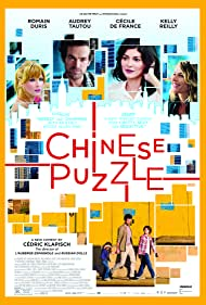 Cécile de France, Romain Duris, Kelly Reilly, and Audrey Tautou in Casse-tête chinois (2013)