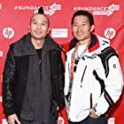 Daniel Dae Kim and Evan Jackson Leong at an event for Linsanity (2013)