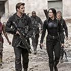 Elden Henson, Mahershala Ali, Jennifer Lawrence, Patina Miller, and Liam Hemsworth in The Hunger Games: Mockingjay - Part 1 (2014)
