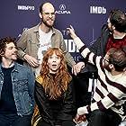 Virginia Newcomb, Andre Hyland, Michael Abbott Jr., Daniel Scheinert, and Billy Chew at an event for The IMDb Studio at Sundance (2015)
