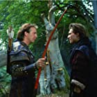 Kevin Costner and Christian Slater in Robin Hood: Prince of Thieves (1991)