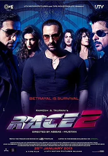 Race 2 2013 Full Hindi Movie Download 500MB 480p BluRay