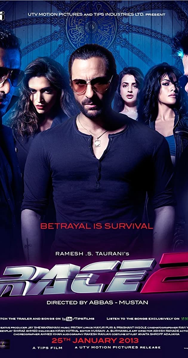 Free Download Race 2 Full Movie