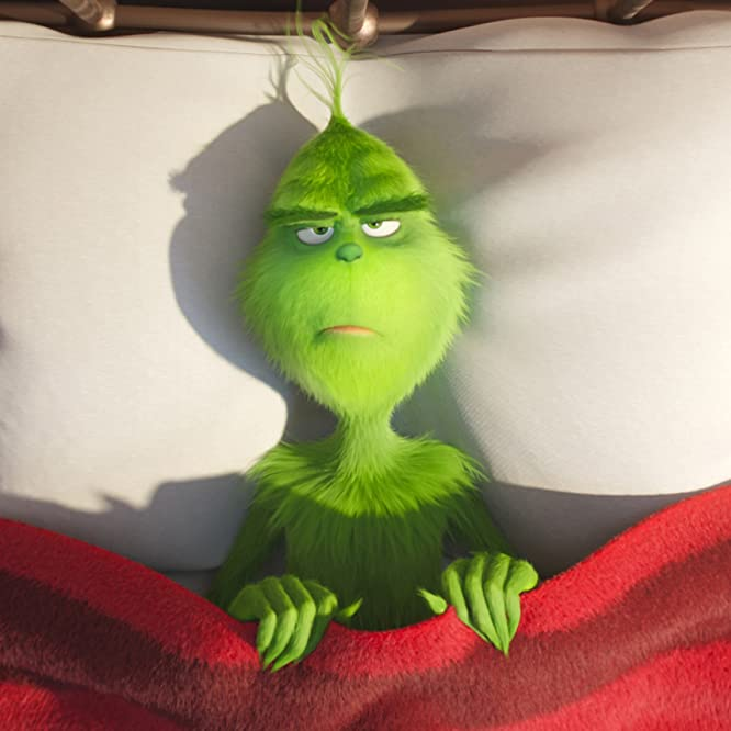 Benedict Cumberbatch in The Grinch (2018)