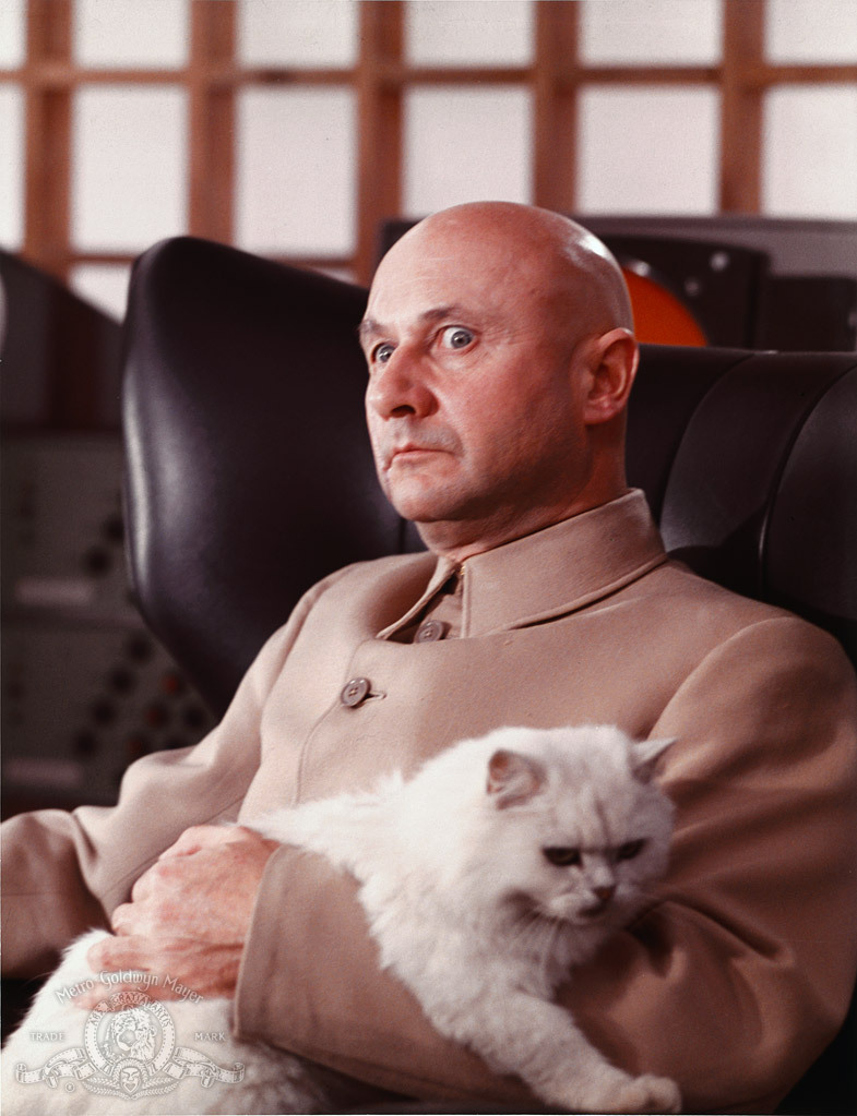 Donald Pleasence in You Only Live Twice (1967)