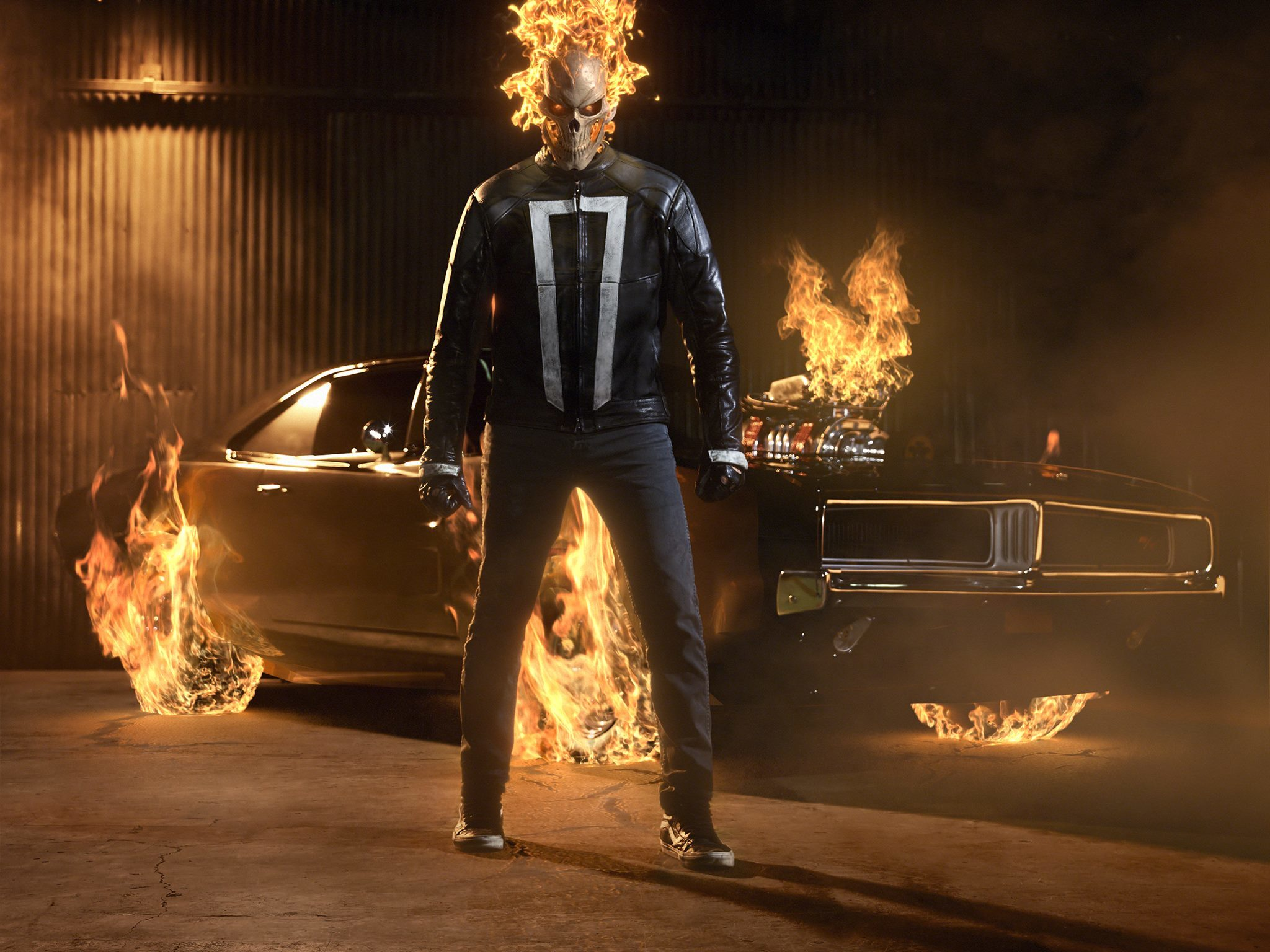 Agents Of Shield Ghost Rider The Ghost Tv Episode 2016 Imdb