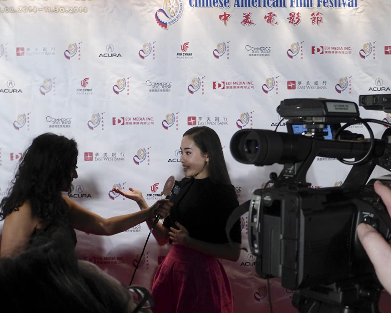 Interview at the Chinese American Film Festival, Los Angeles, November, 2014.