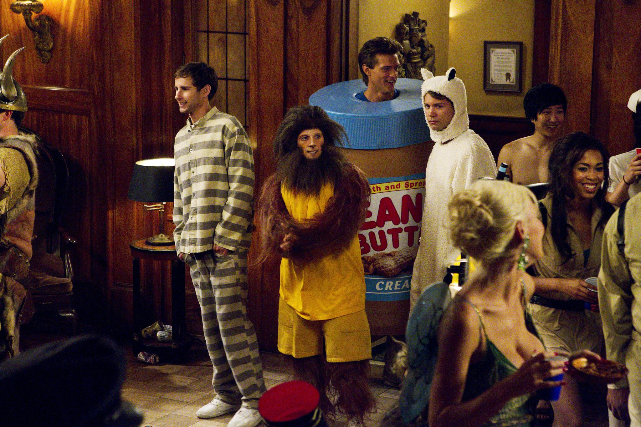 Drew Seeley, Matt Bush, Kelly Blatz, Hartley Sawyer, and Tim Jo in Glory Daze (2010)