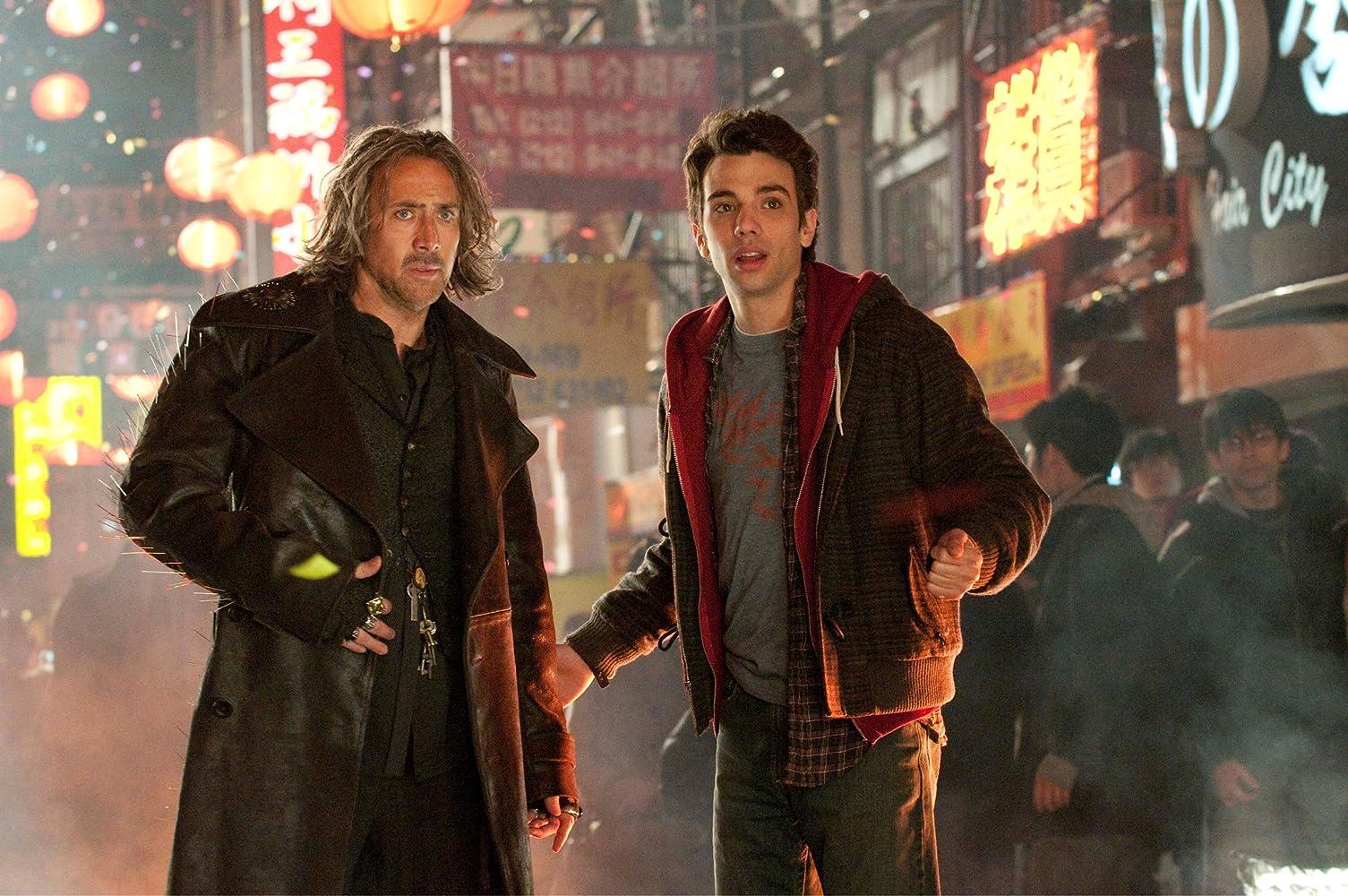 Nicolas Cage and Jay Baruchel in The Sorcerer's Apprentice (2010)