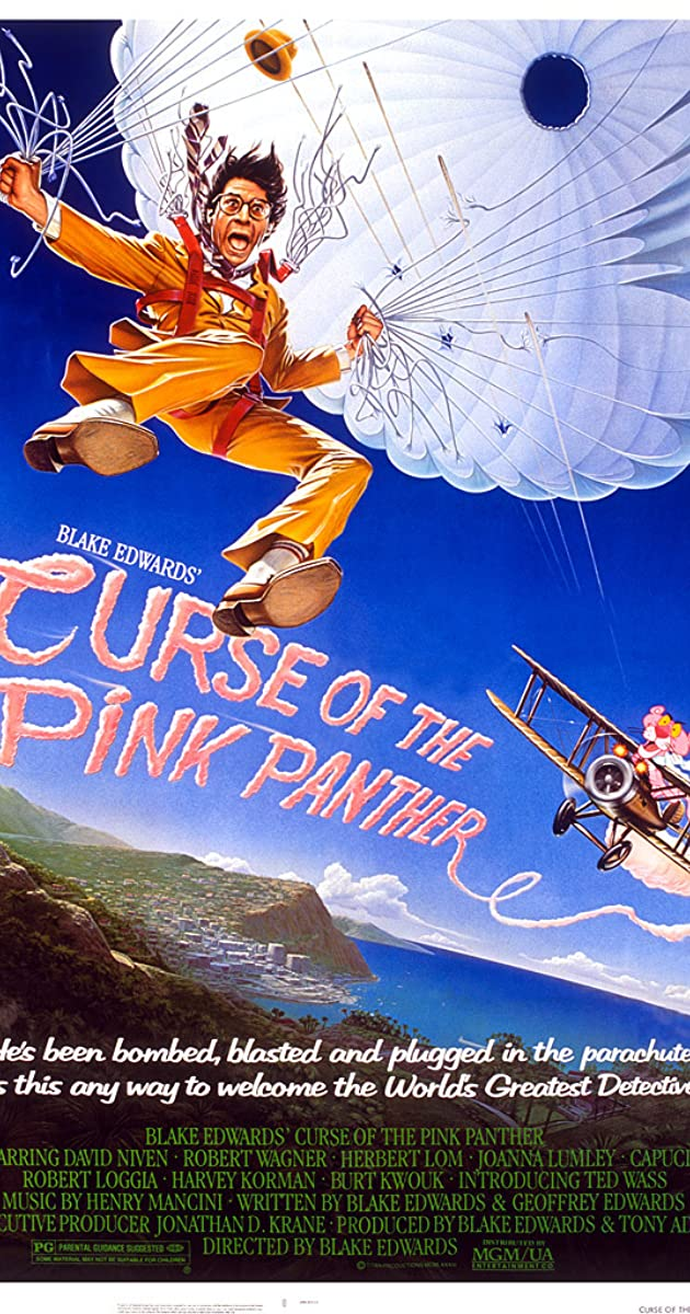 Subtitle of Curse of the Pink Panther
