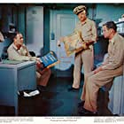 Henry Fonda, Jack Lemmon, and William Powell in Mister Roberts (1955)