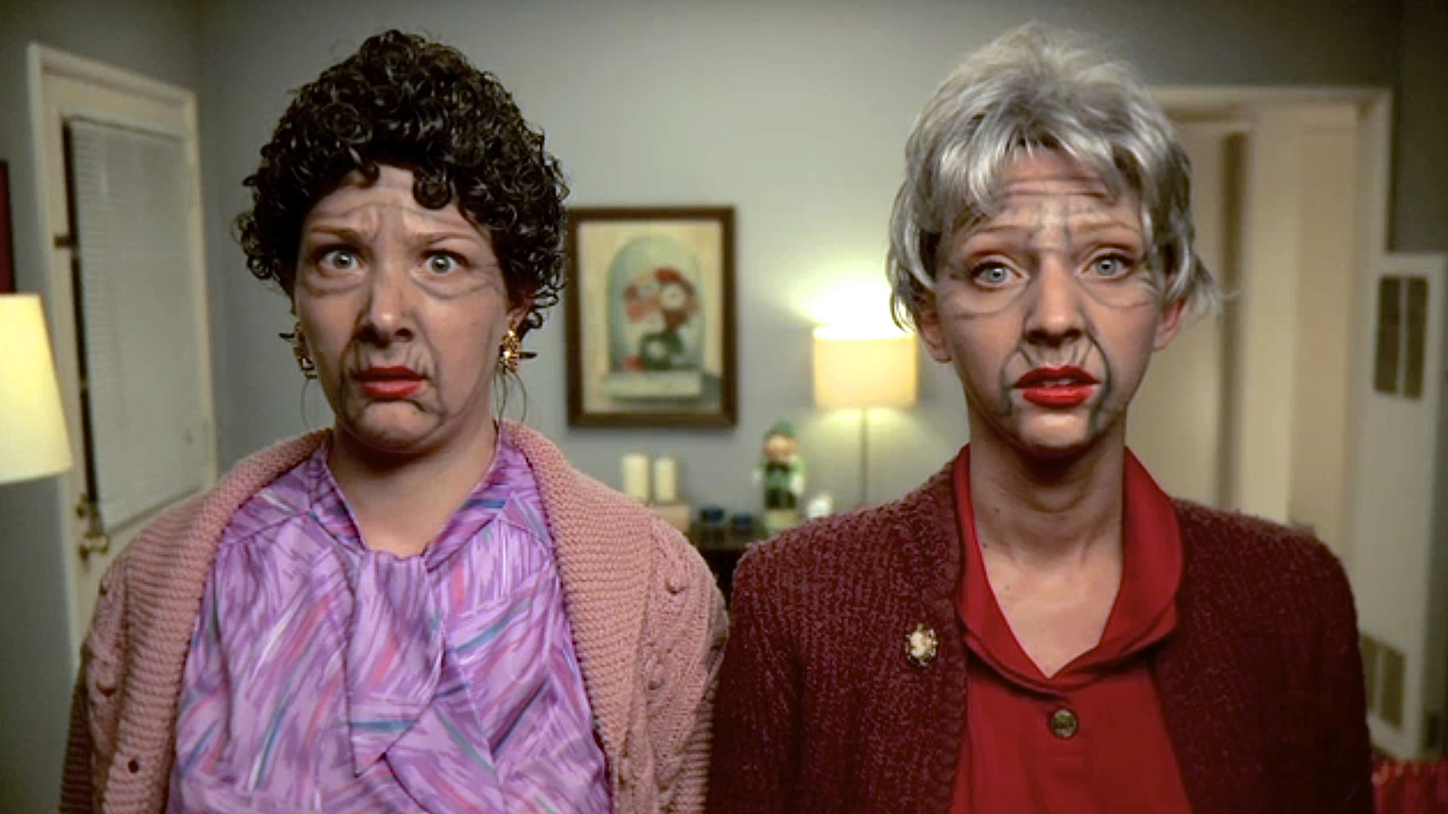"""L to R: Honora Talbott and Sarah Smick in """"Old Souls"""""""
