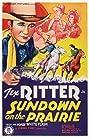 Sundown on the Prairie (1939) Poster