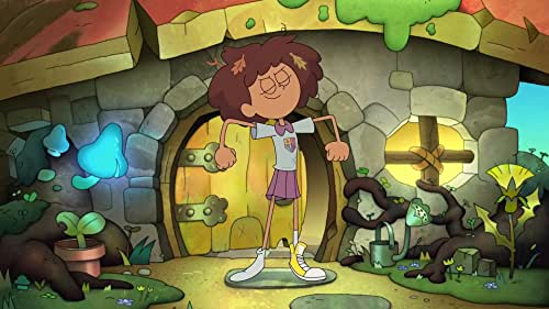 Ordinary Anne Boonchuy, 13, finds a treasure chest that sends her to Amphibia, a world full of frogs, toads, and giant insects. With help from Sprig, she must adjust to life in Amphibia and discover her first true friendship in her life.