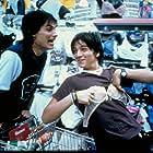Gael García Bernal and Diego Luna in Y tu mamá también (2001)