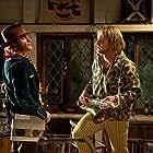Joaquin Phoenix and Owen Wilson in Inherent Vice (2014)