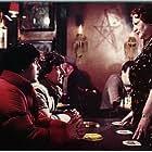 Griffin Dunne, Lila Kaye, Rik Mayall, and David Naughton in An American Werewolf in London (1981)