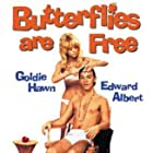 Goldie Hawn and Edward Albert in Butterflies Are Free (1972)