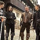 Paul W.S. Anderson, Matthew Macfadyen, Ray Stevenson, and Luke Evans in The Three Musketeers (2011)