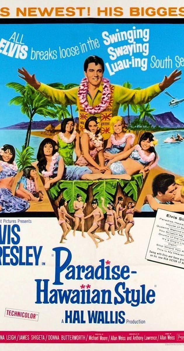 Christmas In Hawaii Movie.Paradise Hawaiian Style 1966 Imdb
