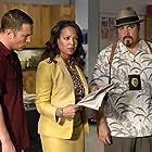 Desmond Harrington, David Zayas, and Lauren Valez in Dexter (2006)