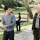 Nick Nolte and Scott Mechlowicz in Peaceful Warrior (2006)