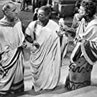 Louis Calhern, Morgan Farley, and John Hoyt in Julius Caesar (1953)