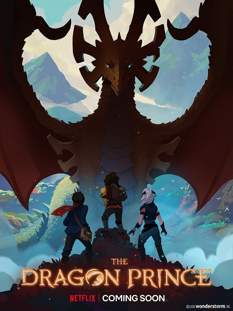 DRAKONŲ PRINCAS (1 sezonas) / THE DRAGON PRINCE