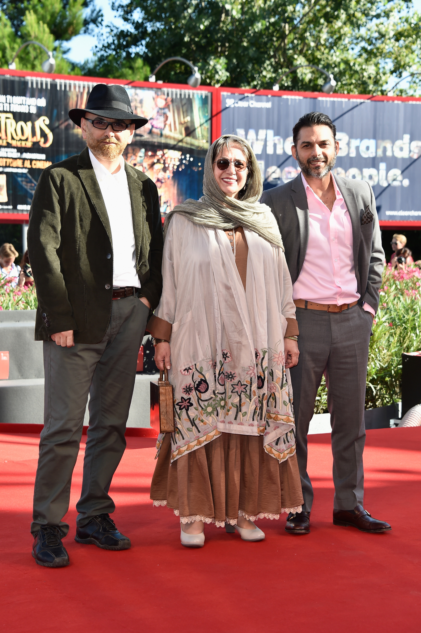 Rakhshan Banietemad, Habib Rezaei, and Payman Maadi at an event for Ghesse-ha (2014)