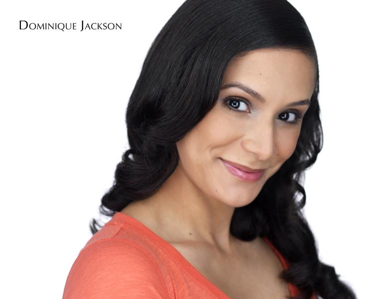 Dominique Jackson Theatrical Headshot - Straight Hair.