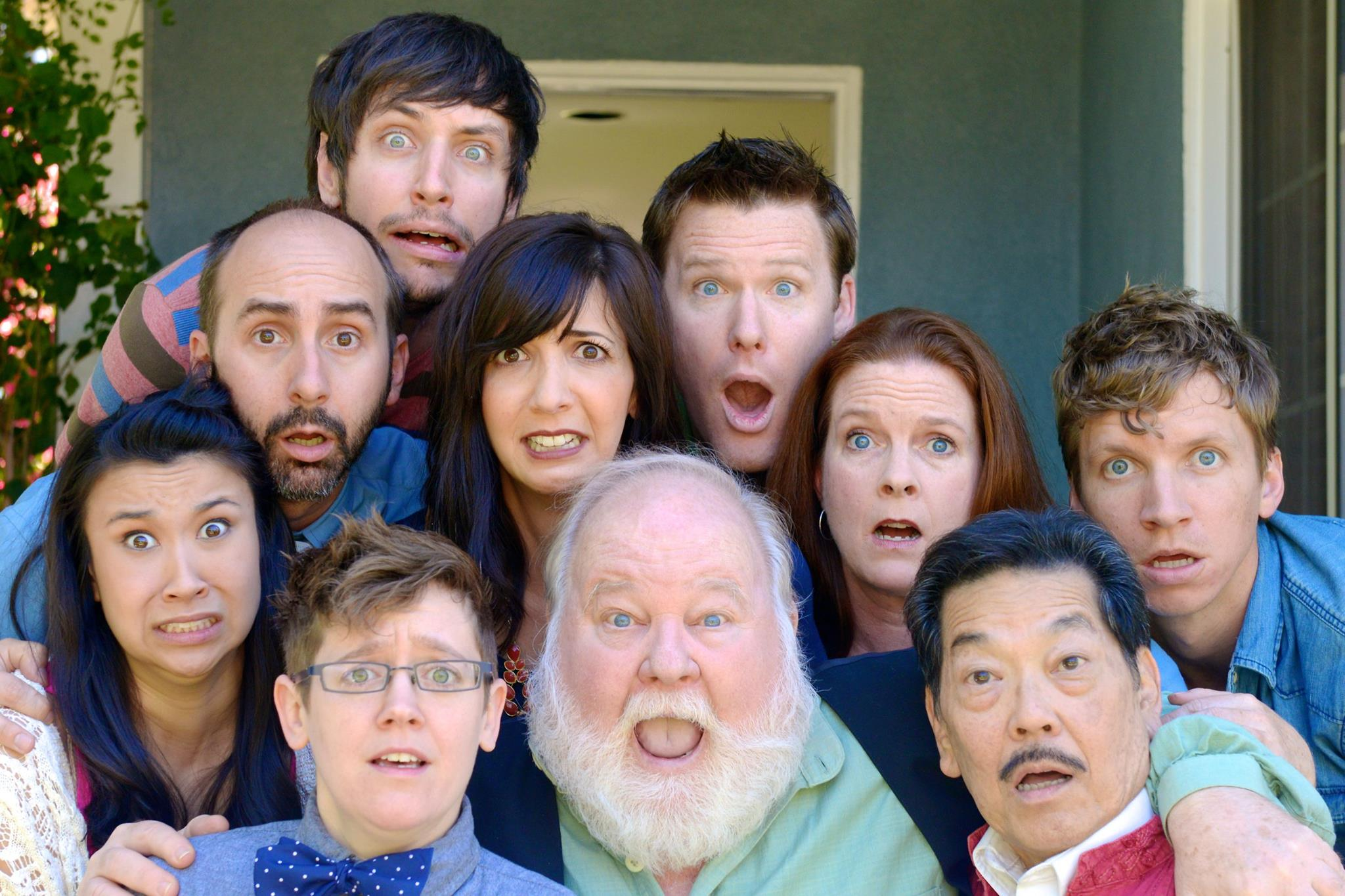 Promo photo for improv group Side Effects