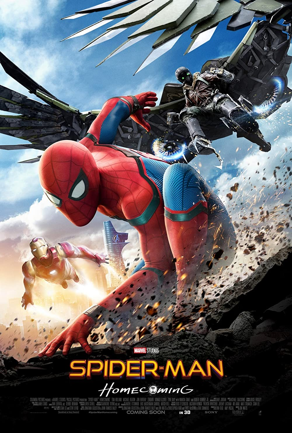 Poster film Spider-Man: Homecoming.