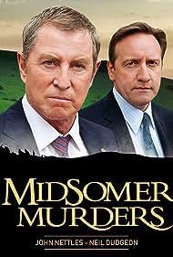 Neil Dudgeon and John Nettles in Midsomer Murders (1997)
