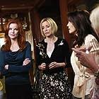 Teri Hatcher, Felicity Huffman, Marcia Cross, Kathryn Joosten, and Eva Longoria in Desperate Housewives (2004)