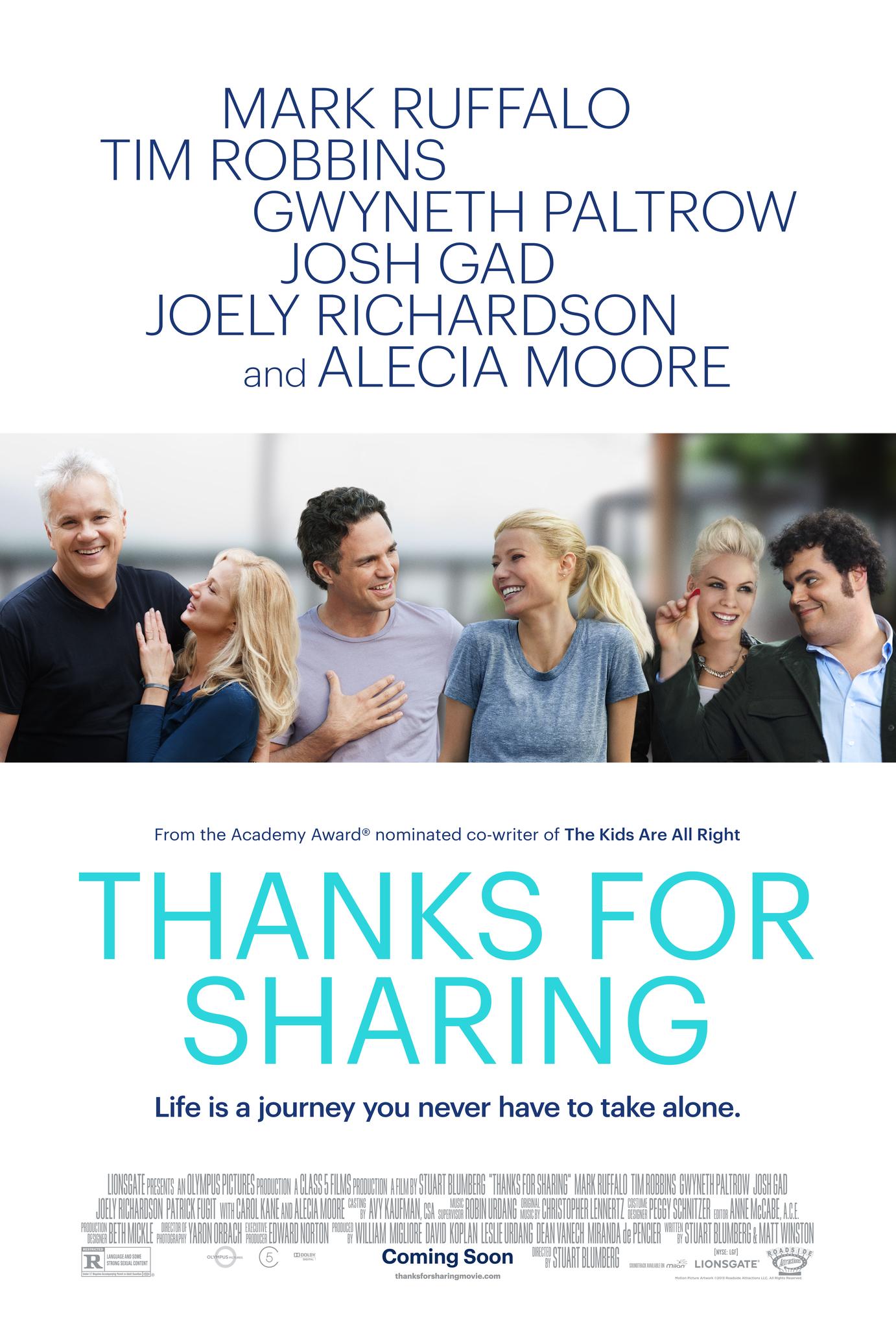 ดูหนังออนไลน์ Thanks for Sharing (2012)