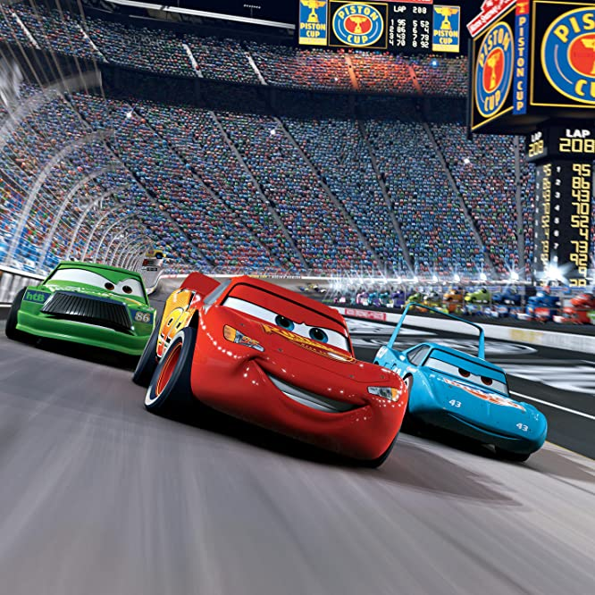 Michael Keaton, Owen Wilson, and Richard Petty in Cars (2006)