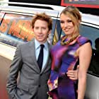 Seth Green and Clare Grant at an event for Mars Needs Moms (2011)