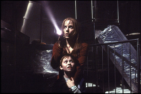Emma Caulfield Ford and Lee Cormie in Darkness Falls (2003)