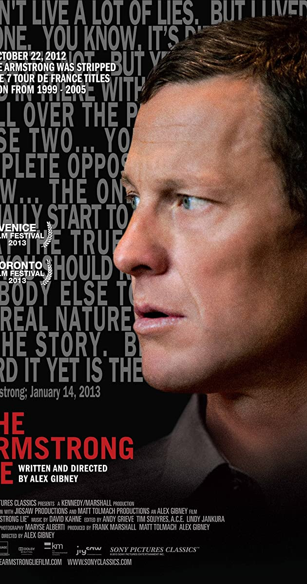 Subtitle of The Armstrong Lie