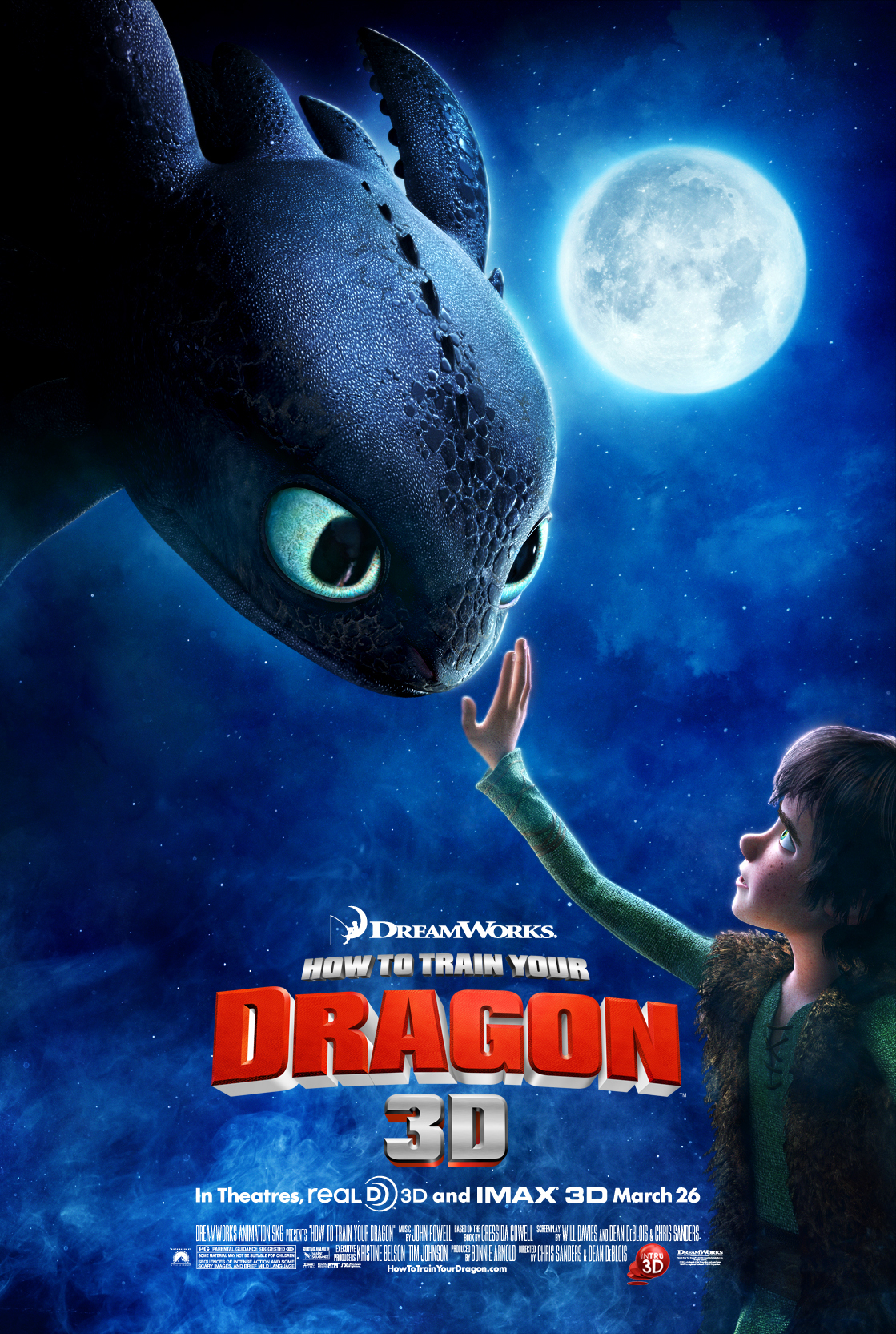 How to Train Your Dragon (2010) Animation Movie