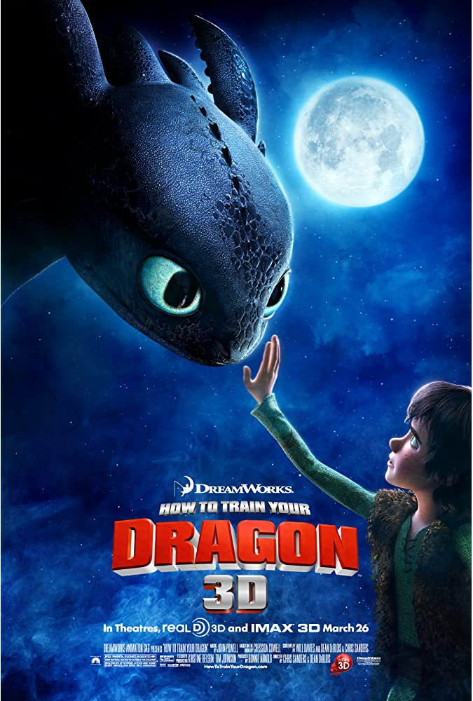 How to Train Your Dragon(2010)
